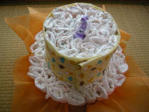2段おむつケーキ土台